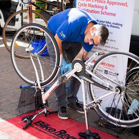 Bike Register Marking 2018